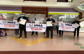 Face Shield Donation by Malaysia Medical Association, Kelantan Branch