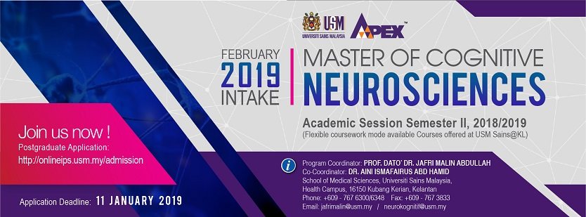 Master of Cognitive Neurosciences