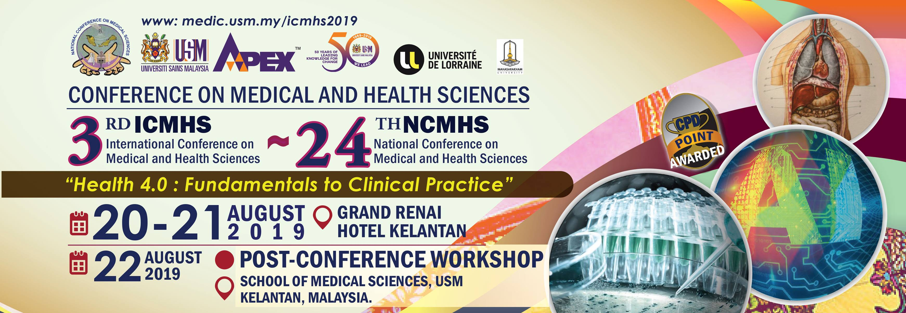 3rd International Conference on Medical and Health Sciences – 24th